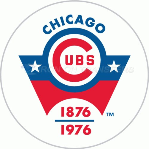 Chicago Cubs Iron-on Stickers (Heat Transfers)NO.1485
