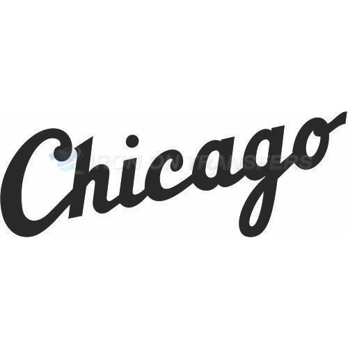Chicago White Sox Iron-on Stickers (Heat Transfers)NO.1494
