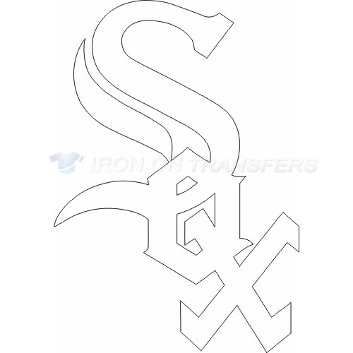 Chicago White Sox Iron-on Stickers (Heat Transfers)NO.1503