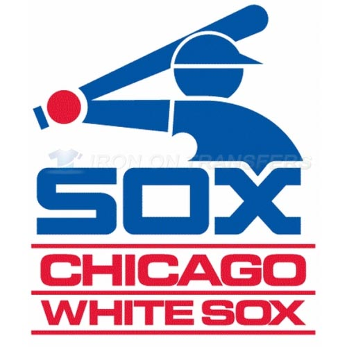 Chicago White Sox Iron-on Stickers (Heat Transfers)NO.1510