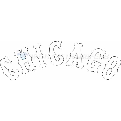 Chicago White Sox Iron-on Stickers (Heat Transfers)NO.1511