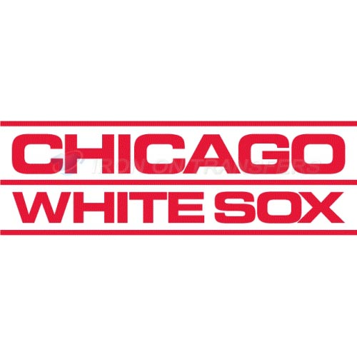 Chicago White Sox Iron-on Stickers (Heat Transfers)NO.1512