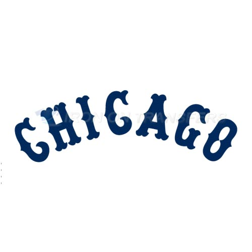 Chicago White Sox Iron-on Stickers (Heat Transfers)NO.1513