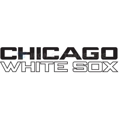 Chicago White Sox Iron-on Stickers (Heat Transfers)NO.1515
