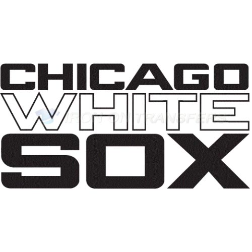 Chicago White Sox Iron-on Stickers (Heat Transfers)NO.1516