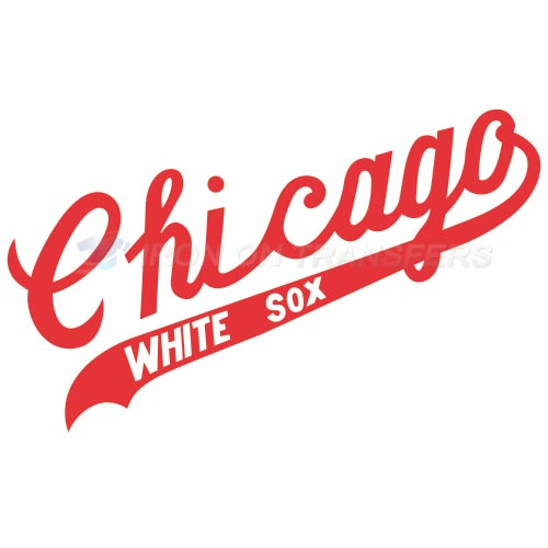 Chicago White Sox Iron-on Stickers (Heat Transfers)NO.1520