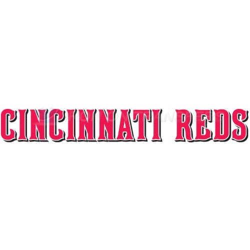 Cincinnati Reds Iron-on Stickers (Heat Transfers)NO.1537