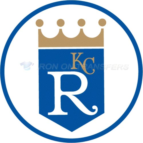 Kansas City Royals Iron-on Stickers (Heat Transfers)NO.1615