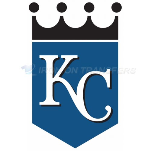 Kansas City Royals Iron-on Stickers (Heat Transfers)NO.1616