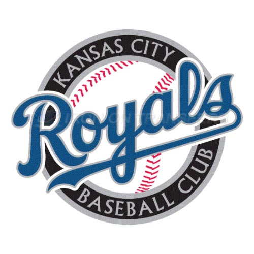 Kansas City Royals Iron-on Stickers (Heat Transfers)NO.1617