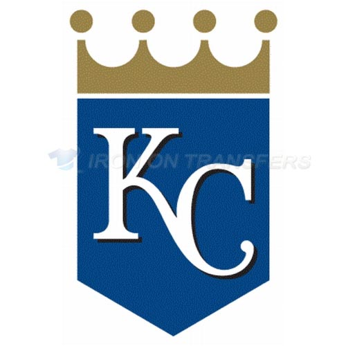 Kansas City Royals Iron-on Stickers (Heat Transfers)NO.1618