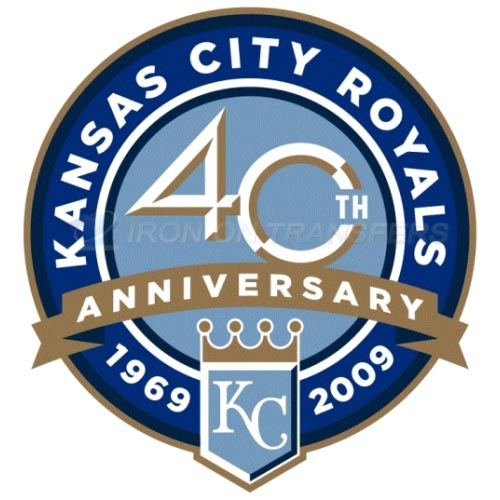 Kansas City Royals Iron-on Stickers (Heat Transfers)NO.1621