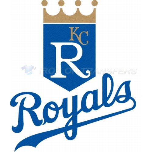 Kansas City Royals Iron-on Stickers (Heat Transfers)NO.1622