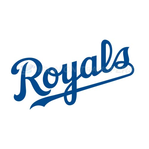 Kansas City Royals Iron-on Stickers (Heat Transfers)NO.1623