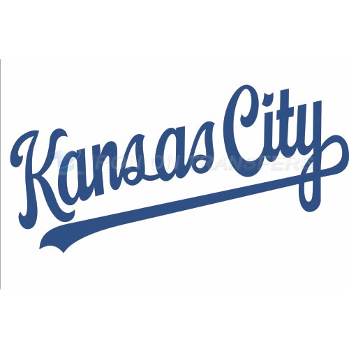 Kansas City Royals Iron-on Stickers (Heat Transfers)NO.1624