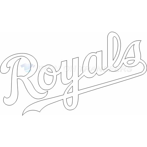 Kansas City Royals Iron-on Stickers (Heat Transfers)NO.1625