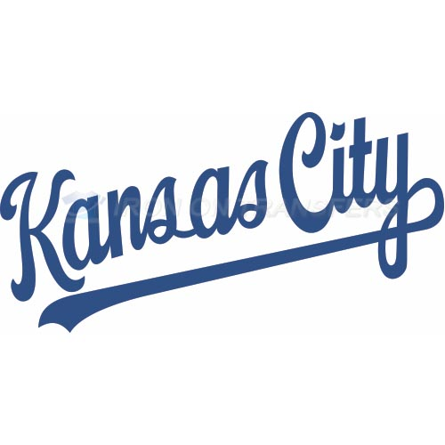 Kansas City Royals Iron-on Stickers (Heat Transfers)NO.1626