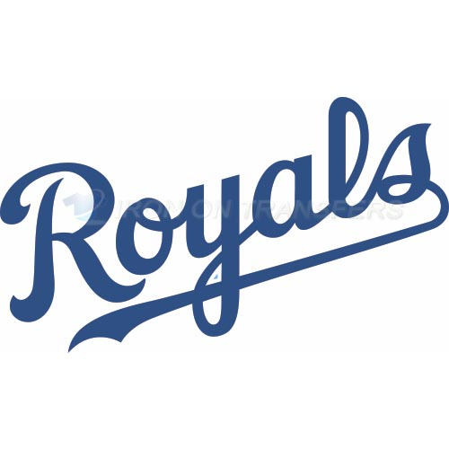 Kansas City Royals Iron-on Stickers (Heat Transfers)NO.1627