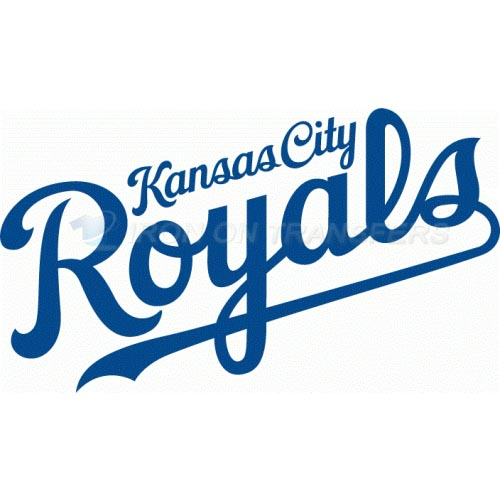 Kansas City Royals Iron-on Stickers (Heat Transfers)NO.1628