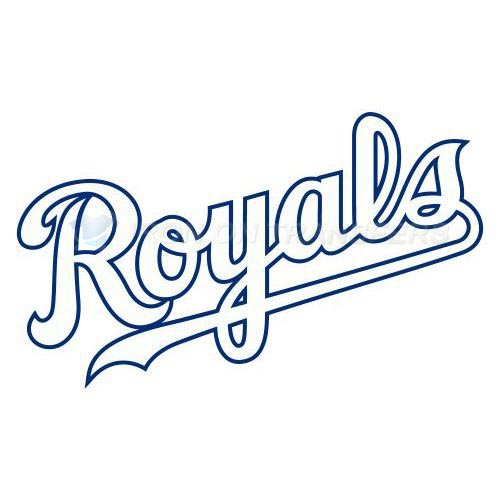 Kansas City Royals Iron-on Stickers (Heat Transfers)NO.1629