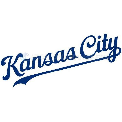 Kansas City Royals Iron-on Stickers (Heat Transfers)NO.1631