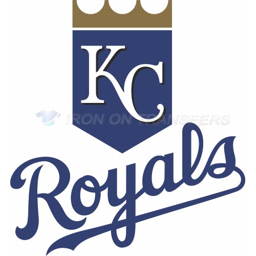 Kansas City Royals Iron-on Stickers (Heat Transfers)NO.1632