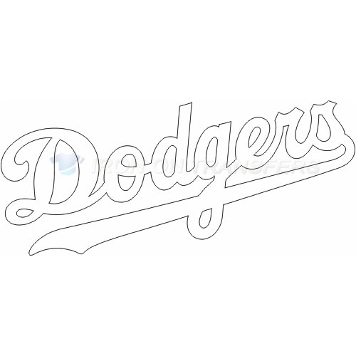 Los Angeles Dodgers Iron-on Stickers (Heat Transfers)NO.1669