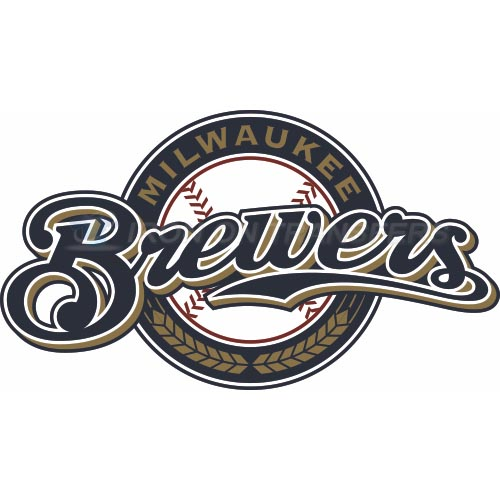 Milwaukee Brewers Iron-on Stickers (Heat Transfers)NO.1702
