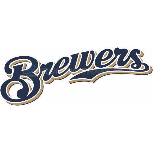 Milwaukee Brewers Iron-on Stickers (Heat Transfers)NO.1704
