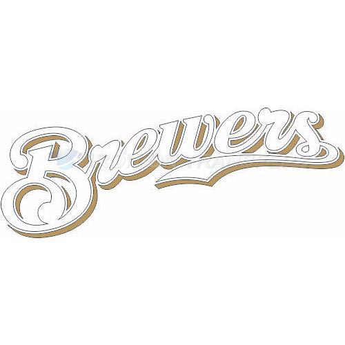 Milwaukee Brewers Iron-on Stickers (Heat Transfers)NO.1707