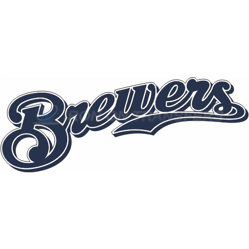 Milwaukee Brewers Iron-on Stickers (Heat Transfers)NO.1708