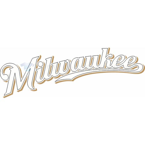 Milwaukee Brewers Iron-on Stickers (Heat Transfers)NO.1709
