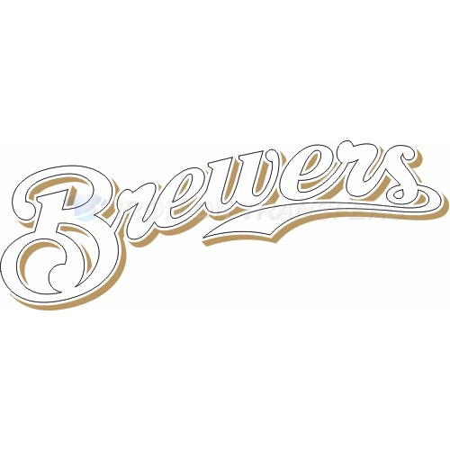 Milwaukee Brewers Iron-on Stickers (Heat Transfers)NO.1710