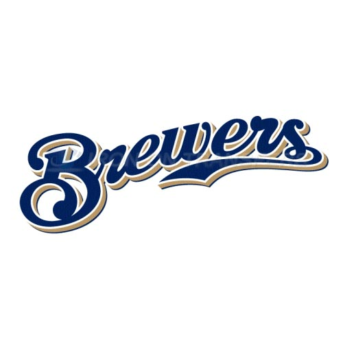 Milwaukee Brewers Iron-on Stickers (Heat Transfers)NO.1711