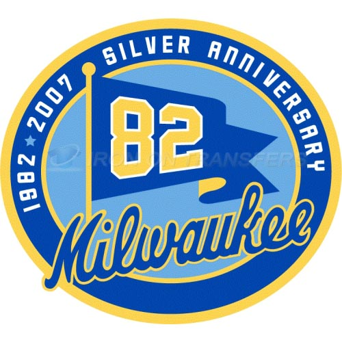 Milwaukee Brewers Iron-on Stickers (Heat Transfers)NO.1714