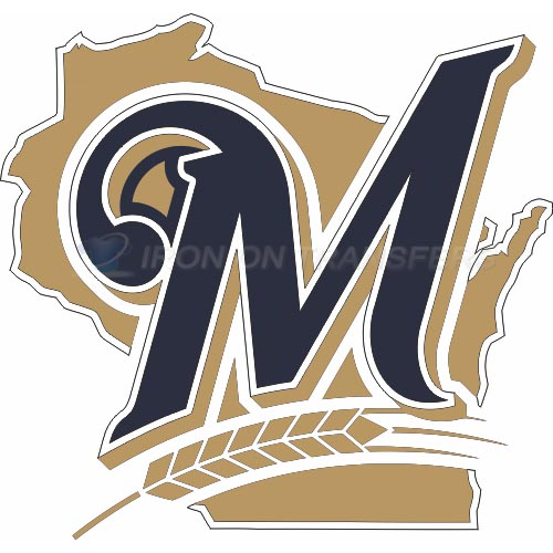 Milwaukee Brewers Iron-on Stickers (Heat Transfers)NO.1716