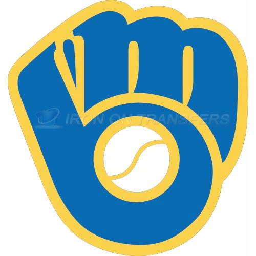 Milwaukee Brewers Iron-on Stickers (Heat Transfers)NO.1718