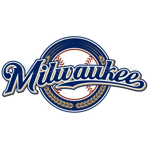 Milwaukee Brewers Iron-on Stickers (Heat Transfers)NO.1721