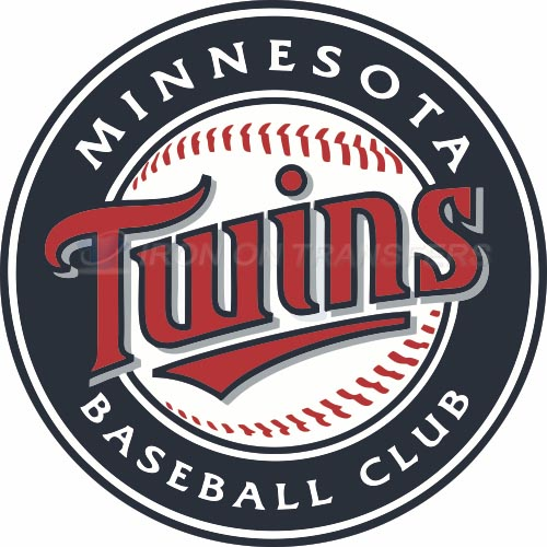 Minnesota Twins Iron-on Stickers (Heat Transfers)NO.1724