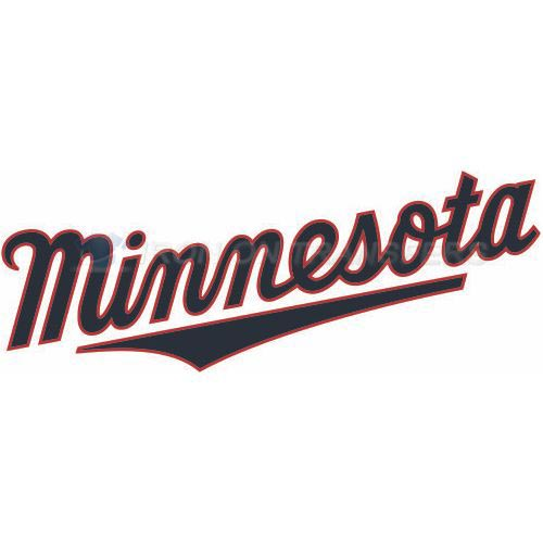 Minnesota Twins Iron-on Stickers (Heat Transfers)NO.1725