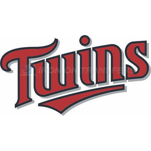Minnesota Twins Iron-on Stickers (Heat Transfers)NO.1726