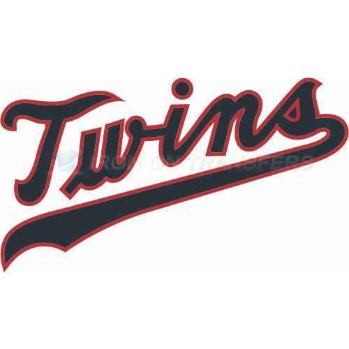 Minnesota Twins Iron-on Stickers (Heat Transfers)NO.1727