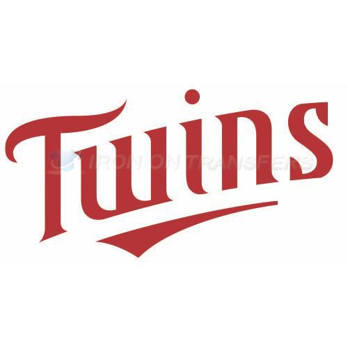 Minnesota Twins Iron-on Stickers (Heat Transfers)NO.1728