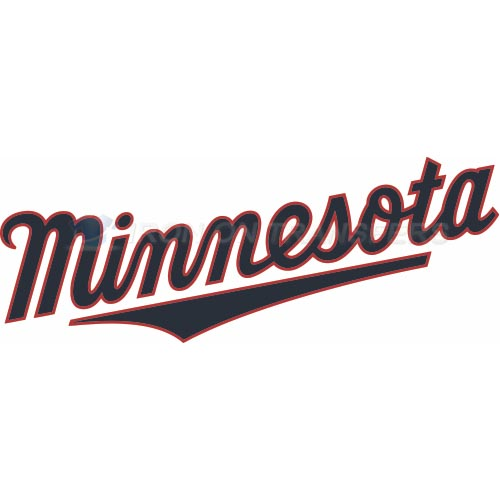 Minnesota Twins Iron-on Stickers (Heat Transfers)NO.1731