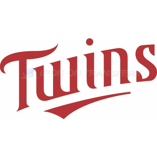 Minnesota Twins Iron-on Stickers (Heat Transfers)NO.1732