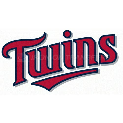 Minnesota Twins Iron-on Stickers (Heat Transfers)NO.1733