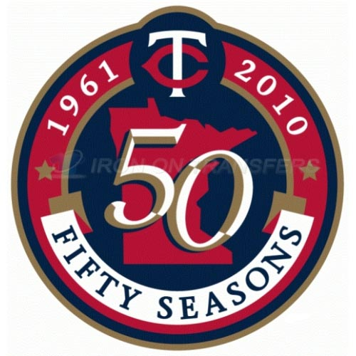 Minnesota Twins Iron-on Stickers (Heat Transfers)NO.1737