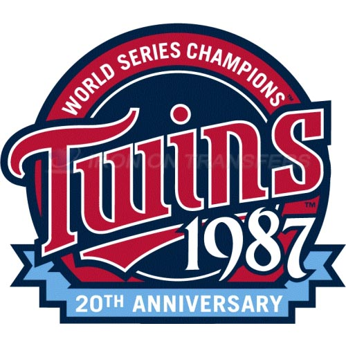 Minnesota Twins Iron-on Stickers (Heat Transfers)NO.1738