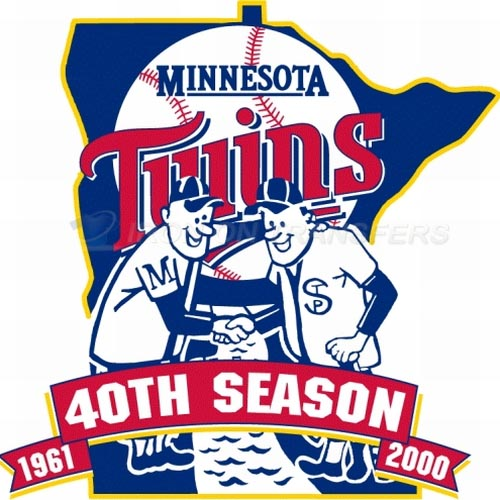 Minnesota Twins Iron-on Stickers (Heat Transfers)NO.1740
