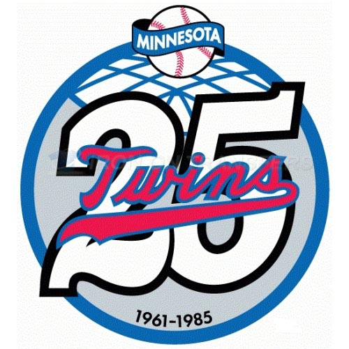 Minnesota Twins Iron-on Stickers (Heat Transfers)NO.1741